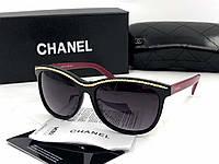 Солнцезащитные очки в стиле Chanel (6041) red, фото 1