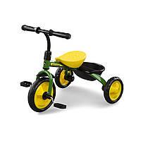 Детский трехколесный велосипед John Deere желто-зеленый, от 2 лет