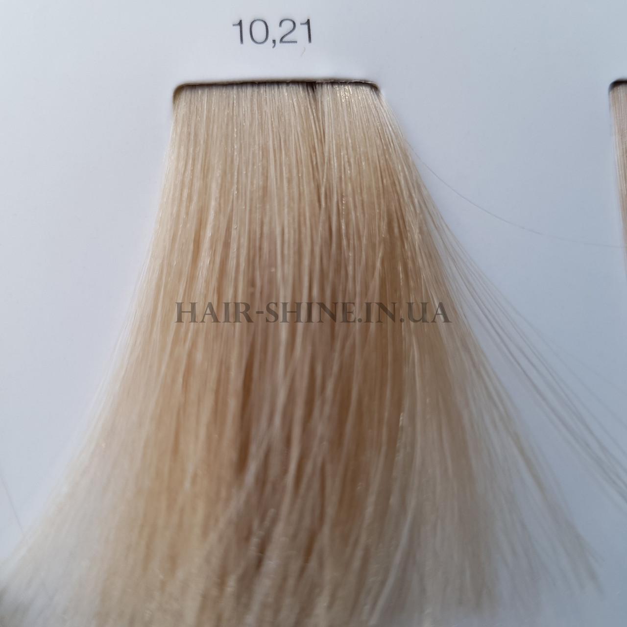 Краска без аммиака 60 мл  L'Oreal Professionnel Inoa 10.21 Очень яркий блондин перламутровый пепельный