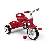 Велосипед детский трехколесный Radio flyer 2.5-5 лет, красный/розовый