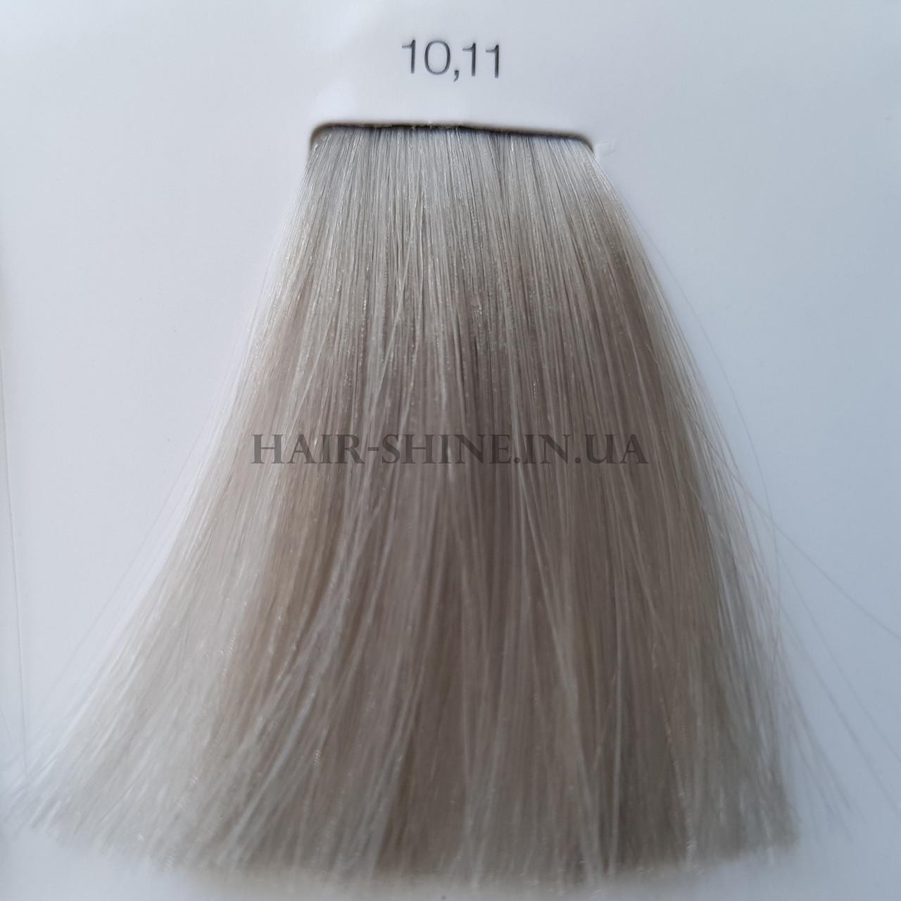 Краска без аммиака 60 мл  L'Oreal Professionnel Inoa 10.11 Очень очень светлый блондин интенсивный пепельный