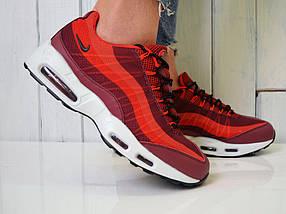 Кроссовки Nike Air Max 95 - Топ качество ААА+, Реальные фото - Найк Эир Макс 95 - Красные, фото 3