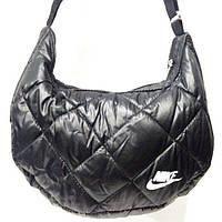 Дутые сумки под пуховик Nike (черный+белый)21*36, фото 1