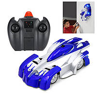 Радиоуправляемая игрушка CLIMBER WALL Антигравитационная машинка на р/у Синяя