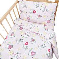Детский комплект в кроватку Панда розов., фото 1