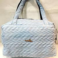 Женские стеганные сумки дешево опт (светлый)28*38