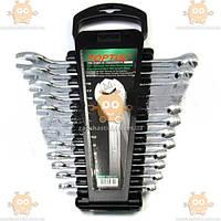Набор ключей рожково-накидных 6-19мм 12шт (планшет) Hi-Performance