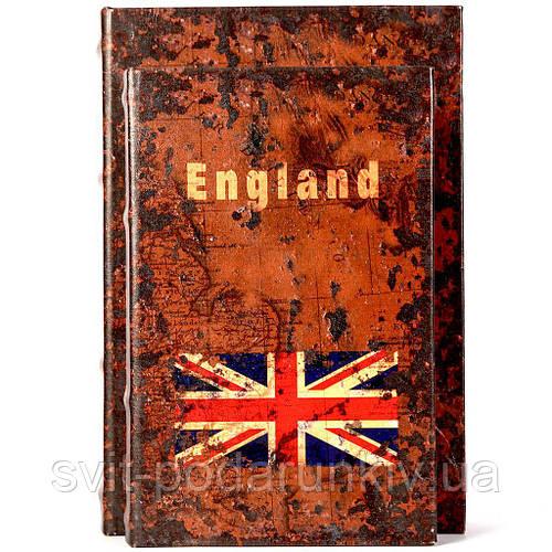Набор книг шкатулок Англия 2 шт KSH-PU1662