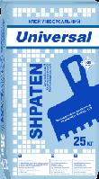 SHPATEN UNIVERSAL ЗИМА -7С клей універсальний, 25кг
