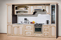 Кухни на заказ МДФ пленка патина Киев, фото 1