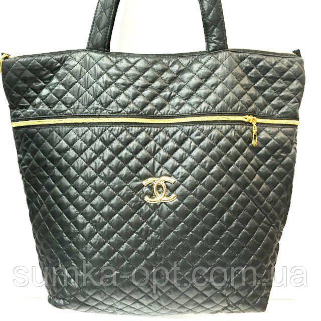 Стеганные сумки оптом (черный)39*44