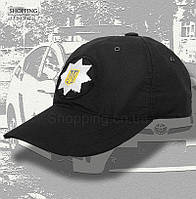 Бейсболка тактическая Черная Полиции, фото 1