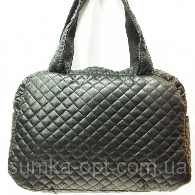 Стеганные сумки оптом (черный)27*41