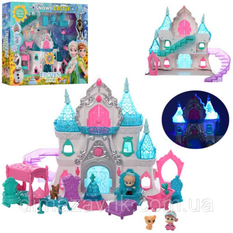 Замок BL8805FBпринцессы, 25 см,муз (англ), свет,  мебель, фигурки, животн, на бат, в кор. 52-43-9 см