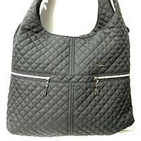 Стеганные большие сумки (черный)33*40, фото 1