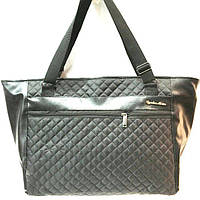 Стеганные большие сумки (черный)29*52