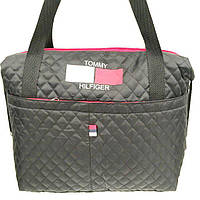 Стеганные стильные сумки TH (черный)28*43, фото 1
