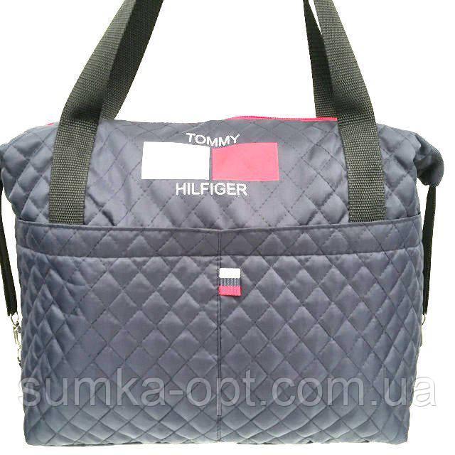 Стеганные стильные сумки TH (синий)28*43