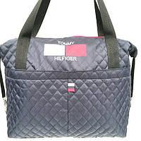 Стеганные стильные сумки TH (синий)28*43, фото 1