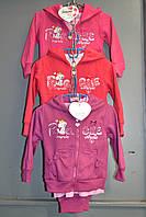 Утеплённые костюмы тройки на байке для  девочек.Размеры 6.9м-36м.Фирма SINSERE,Венгия