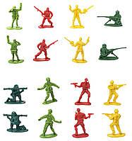 Детский игровой набор солдатиков в тубусе, 50 шт.