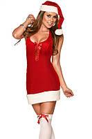 """Шикарный новогодний костюм из велюра """"Снегурочка Секси"""". Красивый карнавальный костюм из велюра для соблазна"""