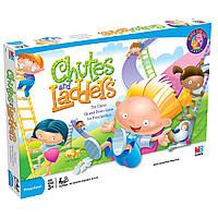 Игра настольная детская/семейная Горки и лестницы, 3-7 лет