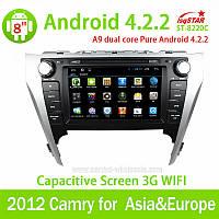 Штатная автомагнитола LsqStar ST-8220С Toyota Camry 2012 для Азии и Европы