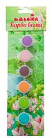Акриловые краски Краски весны, 6 шт., Идейка (98102)