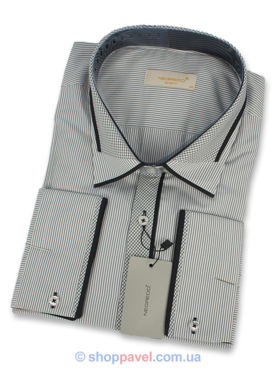 Рубашка мужская Negredo 0370 B Slim
