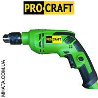 Дрель ударная  Procraft PS -1000 (ударная 13 патрон)