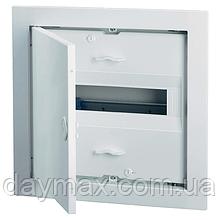 ABB UK612E2. Щит на 12(14) модулей внутренней установки с металлической дверью