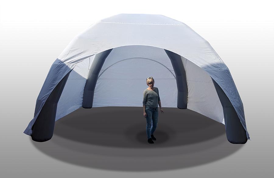 Палатка надувная 5х5 для мероприятий, выставок белая