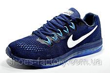 Беговые кроссовки в стиле Nike Zoom All Out Low, Dark blue\White , фото 2