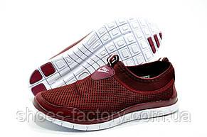 Кроссовки женские в стиле Nike Free Run 3.0, Бордо, фото 3