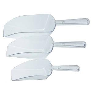 Набор совков для сыпучих продуктов пластмассовый 3 шт.