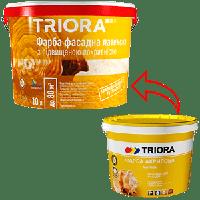Краска TRIORA акриловая фасадная 1 л
