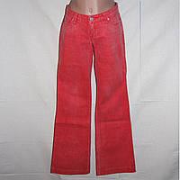 Красные женские джинсы Bershka р.26