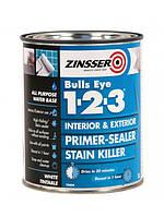 Zinsser BuLL*s Eye 1-2-3 - акриловая грунтовка 3.78л