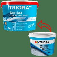 Шпаклевка TRIORA акриловая финишная 16 кг