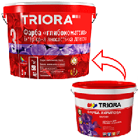 Краска TRIORA интерьерная матовая 1 л
