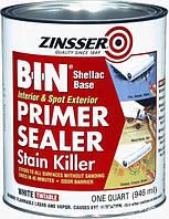 BIN Primer Грунт-силер пятноустраняющий и блокирующий запахи. 0.946л