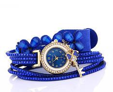 Женские часы браслет со стразами