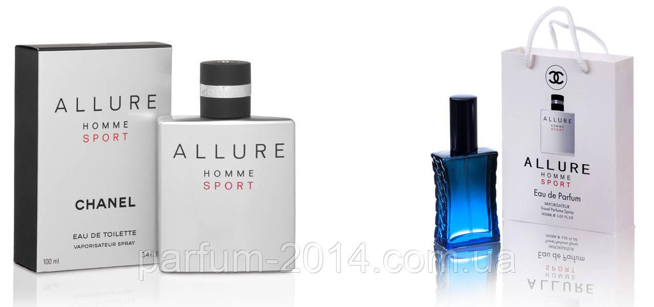 Chanel Allure Homme Sport 100 ml + подарочный набор Chanel Allure Homme Sport 50 ml (реплика)