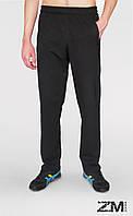 Мужские трикотажные спортивные штаны черные SPORT (ОПТОМ)