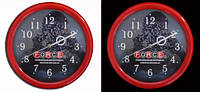 Настенные часы с логотипом в Киеве