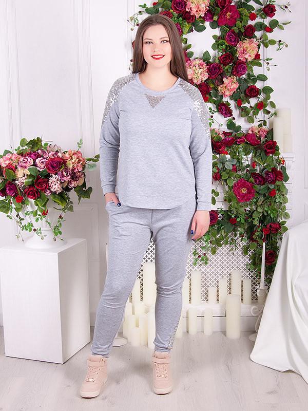 bec0558aa945a Стильный спортивный костюм для полных женщин - V Mode, прямой поставщик  женской одежды в Харькове