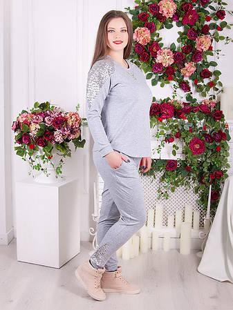 eb51e6270f4dc Стильный спортивный костюм для полных женщин : 970 грн. Купить в ...