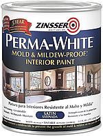 Perma-White самогрунтующаяся белая краска для стен и потолков 0.946л