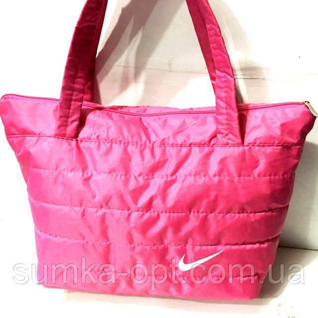 Дутые сумки под пуховик Nike (фуксия)28*34